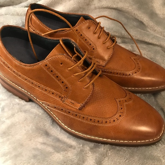 b5b409966ad Men's Steve Madden Oxford Wingtip Shoes Size 12 NWT